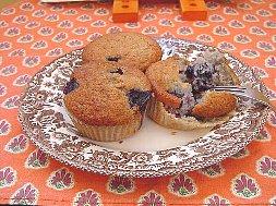 ブルーベリーマフィン (1) お皿