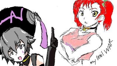 志乃さんとマリナっちゃん