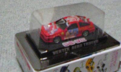 らき☆すたミニカー1