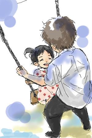 益田さんと美奈子ちゃん。