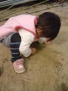やっぱり砂遊び
