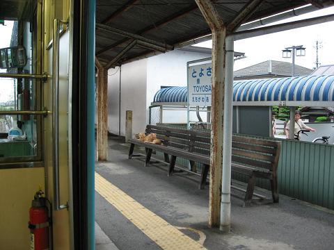 豊郷駅にて