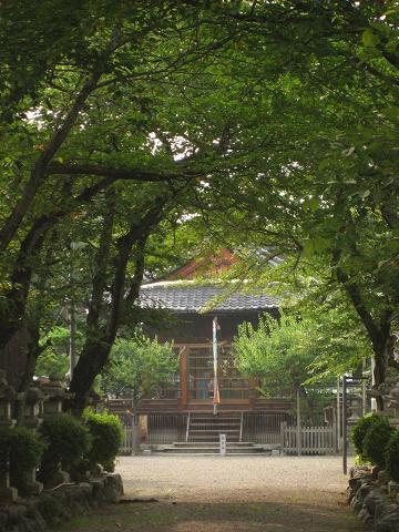 愛知川宿・八幡神社