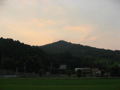 繖山(観音寺山)