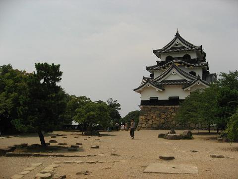 彦根城・本丸跡