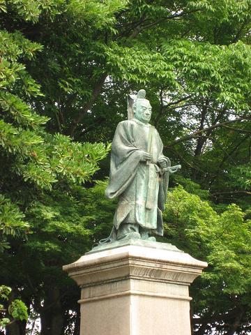 井伊直弼の銅像