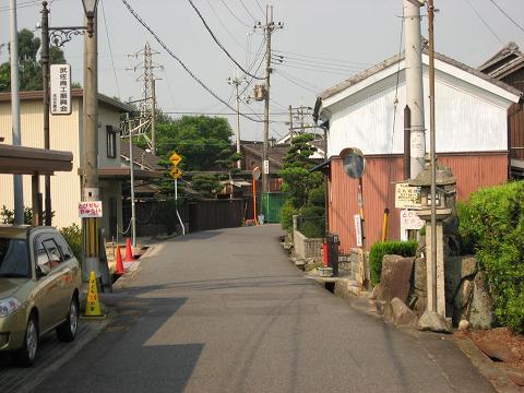 武佐宿・西の高札場跡