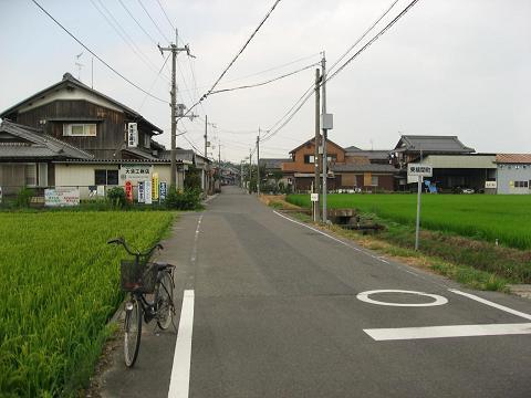 旧中山道・東横関町