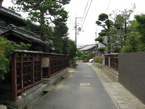 旧中山道・西横関町