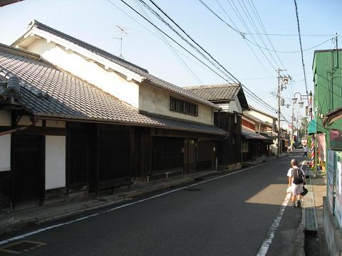守山宿(今宿)の町並み