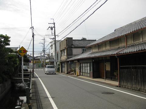 旧中山道・焔魔堂町