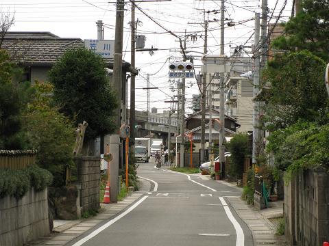 旧中山道・笠川