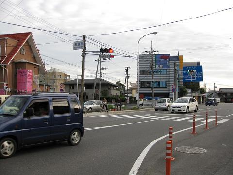 旧東海道・矢倉南交差点