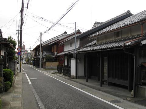 旧東海道・矢倉