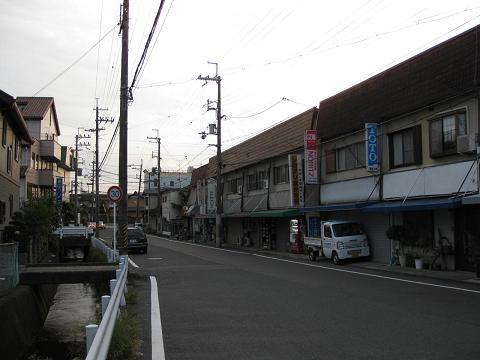 旧東海道・一里山