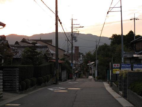 旧東海道・大江