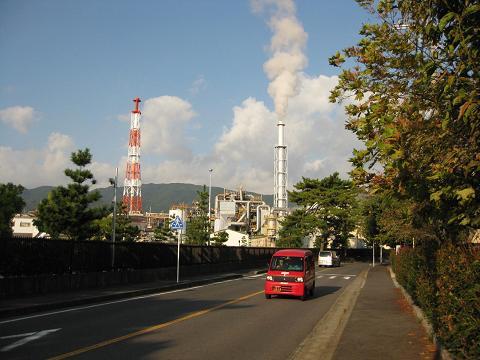 旧東海道・晴嵐