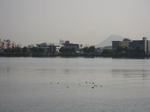 琵琶湖・御殿浜からの眺め