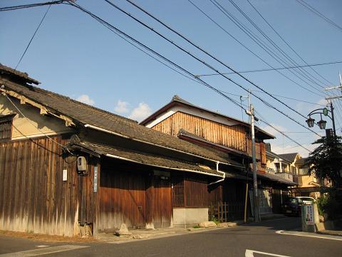 旧東海道・杉浦町