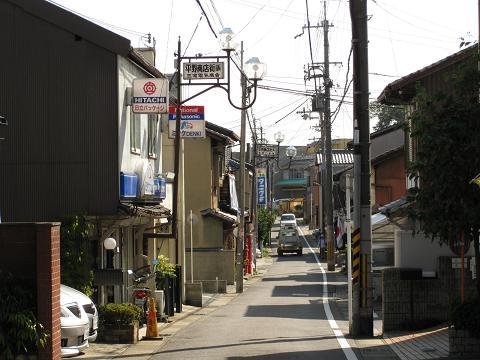 大津宿・平野商店街
