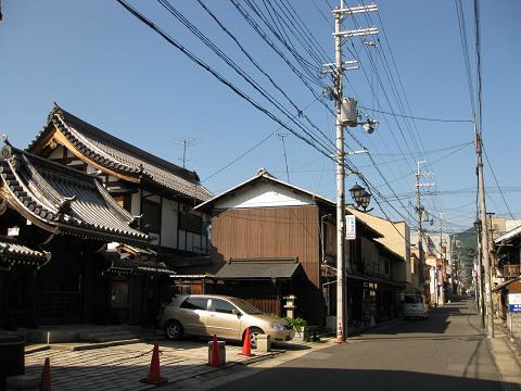 旧東海道・唯泉寺前