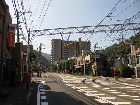 大津宿・本陣跡付近