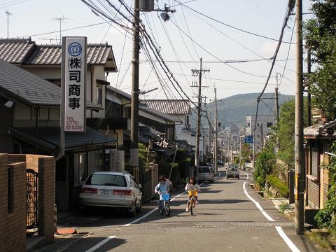 旧東海道・横木