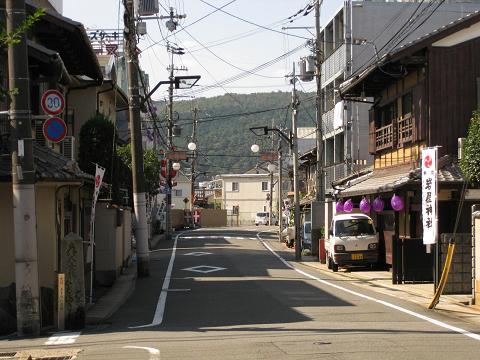 旧東海道・五条別れ