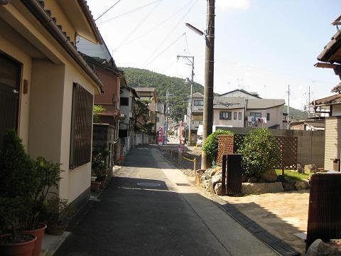 旧東海道・御陵