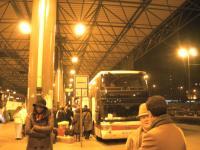 ミラノのバス停