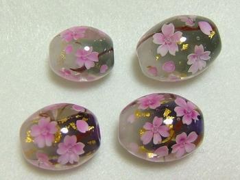 薄墨桜と夜桜