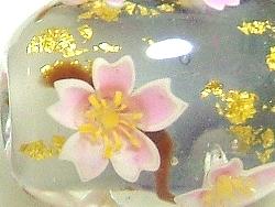 花芯パーツを使った点打ち桜の玉