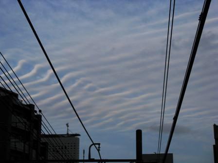 地震雲 1