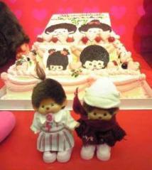 まりあちゃん&ケーキ