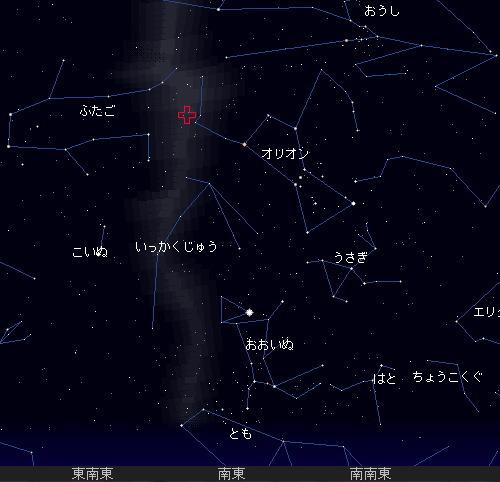 201110 22 オリオン座流星群星図2時