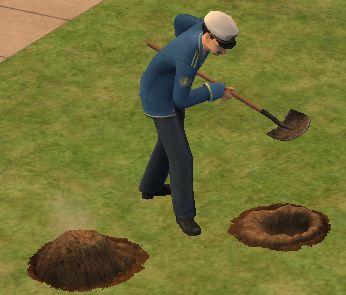 穴掘りグラスさん
