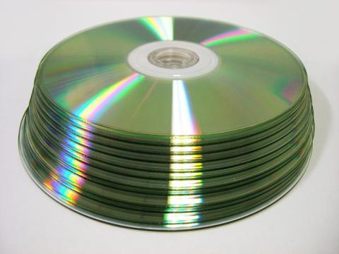 オリジナルCD-R「ディスク裏」