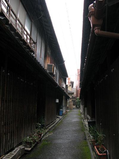 桜井の路地