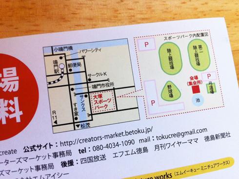 クリエーターズマーケット7地図
