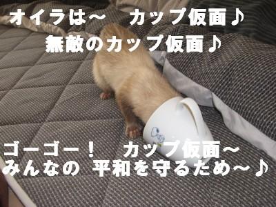カップ仮面2号03 2009・02・24