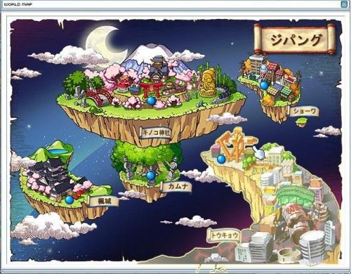ジパング地図