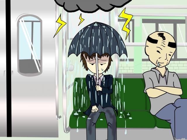 まさに集中豪雨
