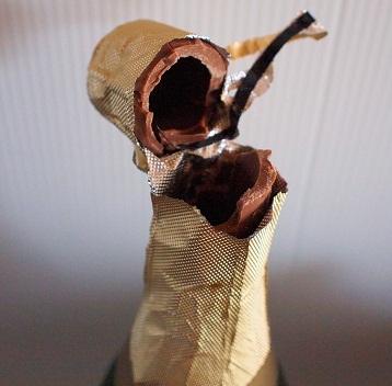 ジャイアントシャンパンボトルチョコ