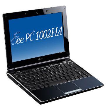 ASUSTeK(アスーステック)、Eee PC 1002HAを発売、Eee PC 1000H-Xを200グラム計量化し、デザインも一新した新モデル、発売日は2月7日、価格は52,800円