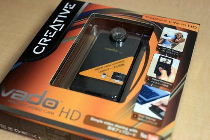 Vado HD買いました