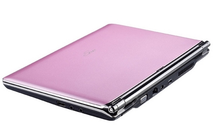ASUSTeK、1500台限定でEee PC S101のスパークリングピンクモデルを12月21日に発売