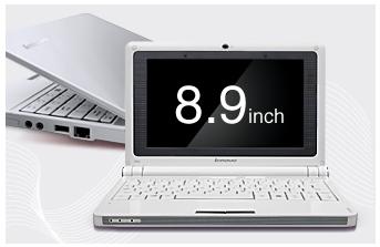 レノボ、8.9型ワイド液晶搭載のIdeaPad S9e(アイデアパッド)を発表、3月7日発売、価格は39,800円