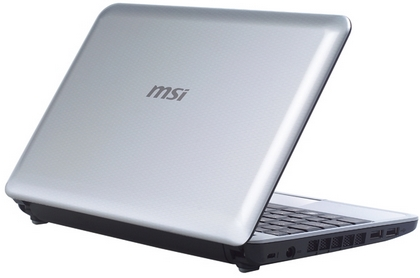 MSIからWind Netbook U115 Hyblidが発売
