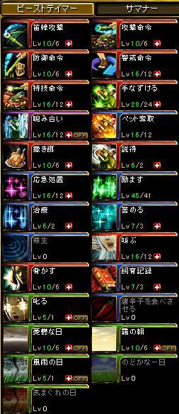 スキル…orz