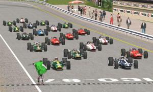 19台参加のレース1